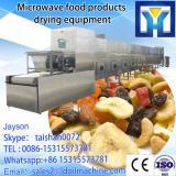 tunnel green tea&black tea&oolong tea microwave drying and sterilization machine