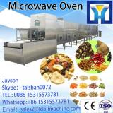 automatic high efficient industrial tunnel microwave dryer